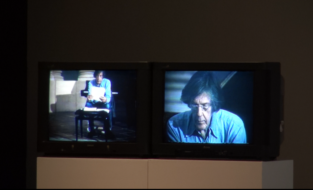 Cage- Empty Words & Mirage Verbal 1986 Video Installation